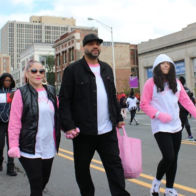 "Team Berjé at ""Making Strides: Newark"" Breast Cancer Walk #teamberje #berjeinhouse @makingstridesnewarknj"