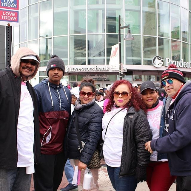 "Team Berjé at ""Making Strides: Newark"" Breast Cancer Walk #teamberje #berjeinhouse"