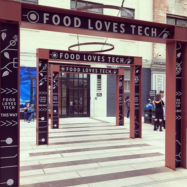 Amazing presentations at Food Loves Tech #foodlovestech