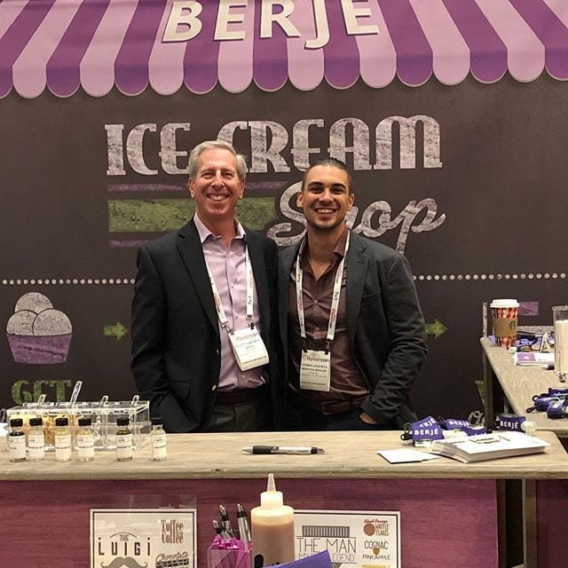 Come see us at the Berjé Ice Cream Shop! #flavorcon #teamberje