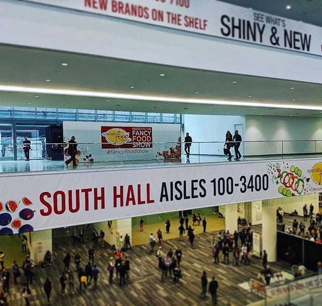 Visiting the Winter Fancy Food Show